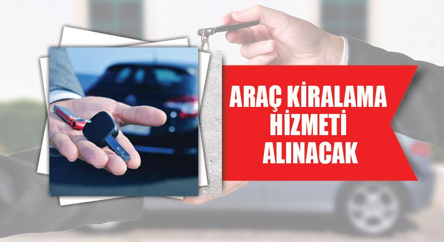 Karayollarına araç kiralama hizmeti alınacaktır.