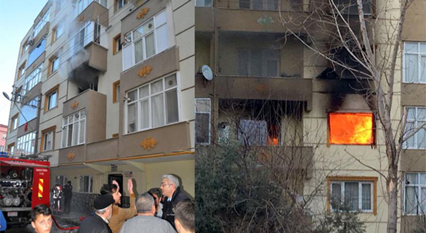 Bursa'da kiracı dehşeti! Kira istenince daireyi yaktı