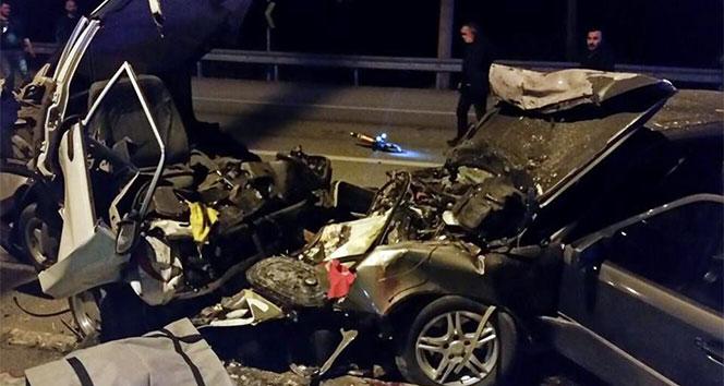 Trafikte dehşet anları yaşandı:2 ölü