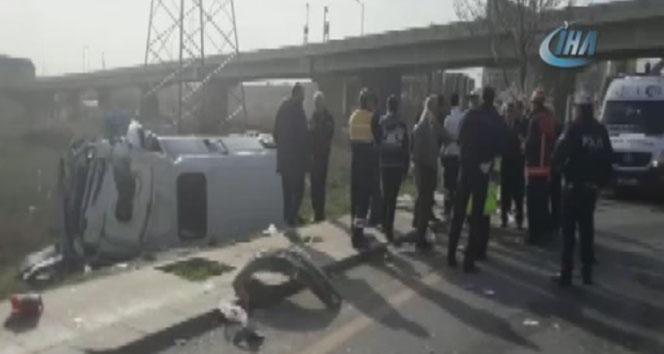 Ankara'da korkunç kaza: 3'ü ağır 17 yaralı