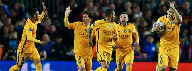 Atletico kızardı, Barcelona galip ayrıldı