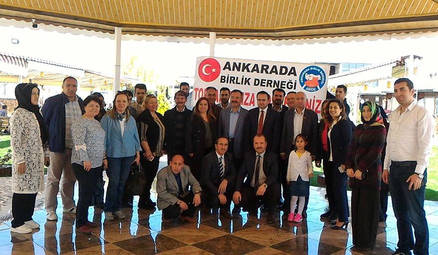 Ankarada Birlik Derneği Çubuk'ta