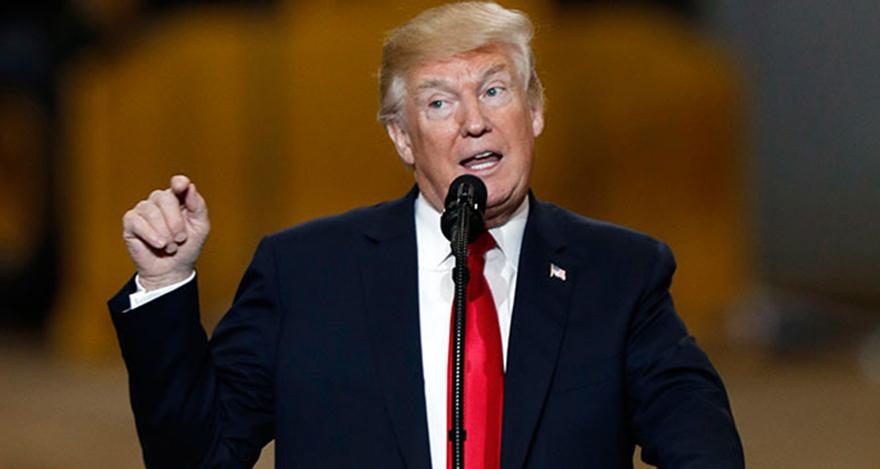 Trump'dan Suriye'ye savaş çağrısı