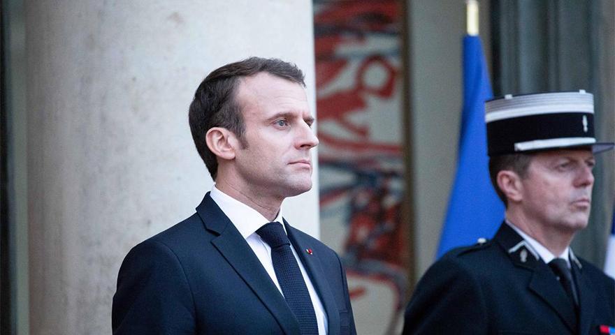 """Macron """"Türkleri ve Rusları Ayırmayı Başardık"""" demişti Hükümetten ilk tepki"""