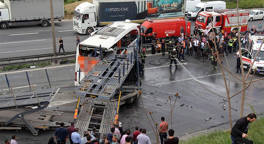 Kural tanımayan sürücüler dehşet saçtı: 722 can kaybı 60 bin yaralı