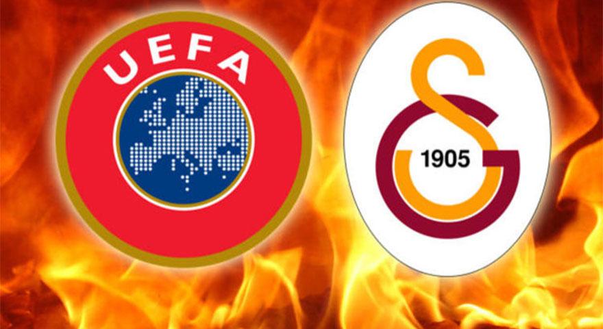 UEFA'dan Galatasaray'a ceza açıklaması!