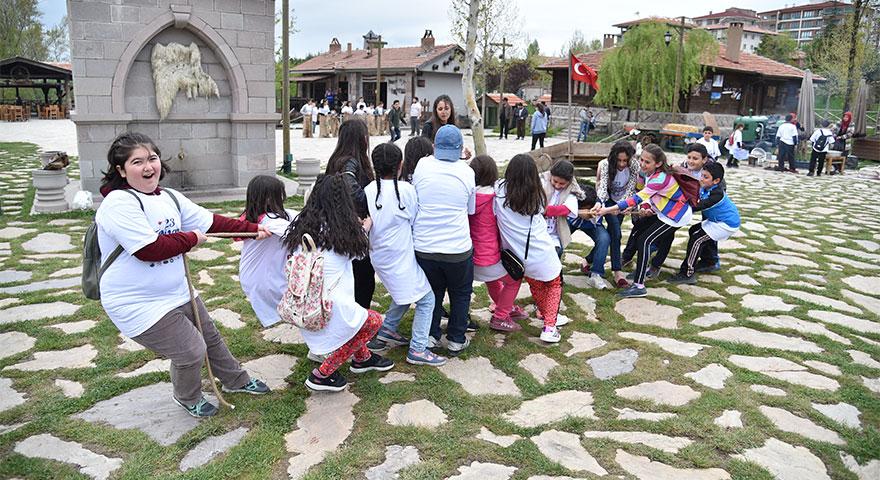 Altınköy'de nostaljik çocuk şenliği