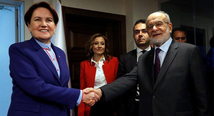 Akşener - Karamollaoğlu görüşmesinin ardından ilk açıklamalar