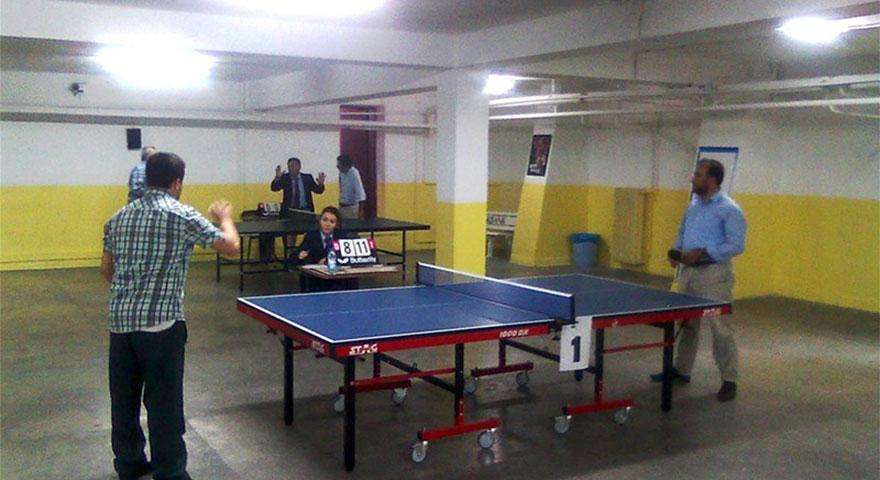 Pursaklarda masa tenisi heyecanı sona erdi