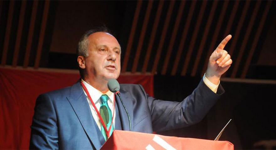 """Muharrem İnce'den Abdullah Gül resti! """"Erdoğan'a oy veririm!"""""""