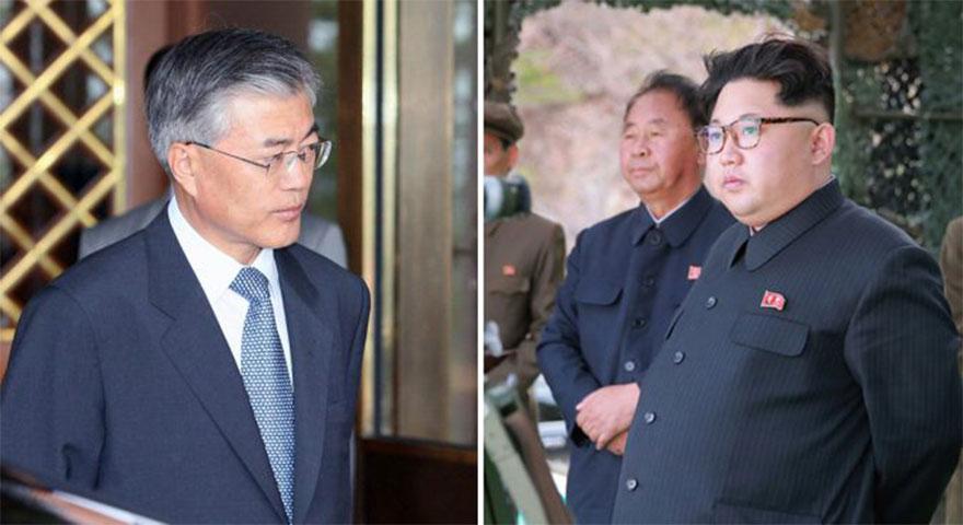 Kim Jong-un ve Moon Jae-in Güney Kore'de bir araya geliyor