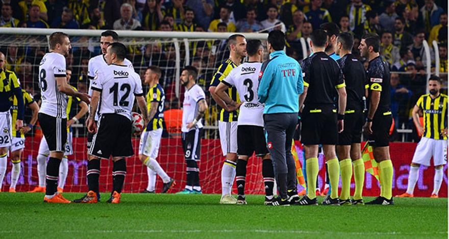 Beşiktaş'dan flaş Fenerbahçe kararı