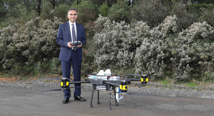 Dronecell hayat kurtaracak