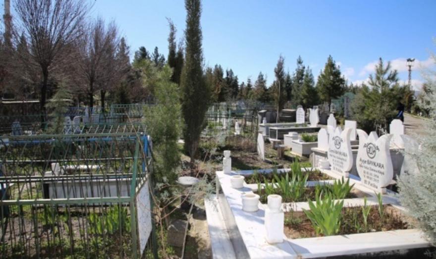 Mezarlıktaki esrarengiz ses korkutuyor