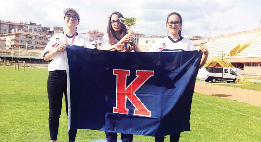 Lise Kız Okçuluk Takımı Türkiye Şampiyonasında
