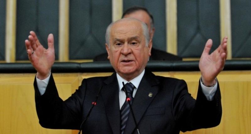 MHP lideri Bahçeli: Yılanın deliğine çomağı sokmuşum