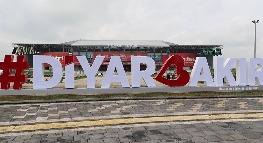Diyarbakır'daki kupa finali için hazırlıklar tamamlandı