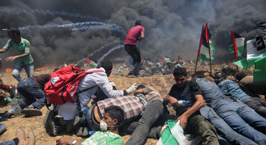 Kudüs'te kara gün! 41 şehit