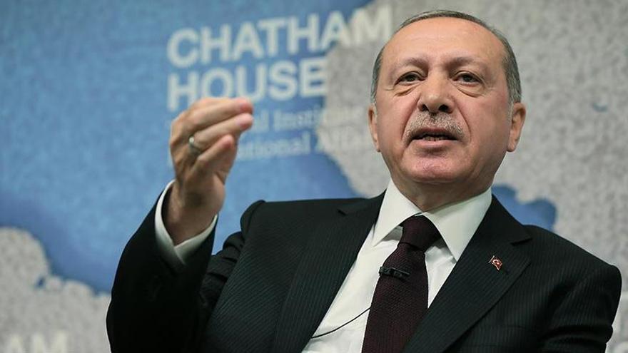 Cumhurbaşkanı Erdoğan: Filistin'deki soykırımı lanetliyorum