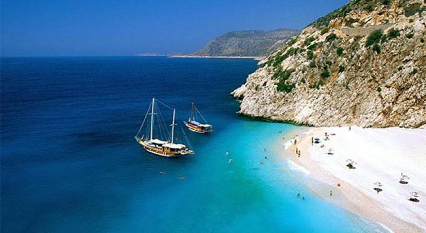 459 plajın rengi mavi