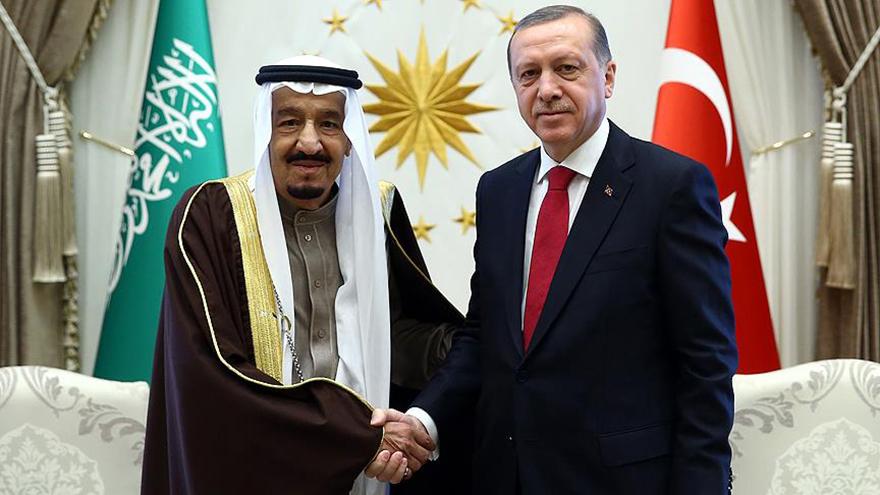 Cumhurbaşkanı Erdoğan Kral Abdullah ile görüşme yaptı