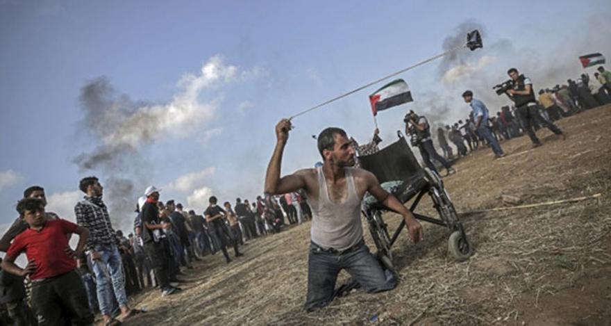 Gazze'de şehit sayısı 63' yükseldi
