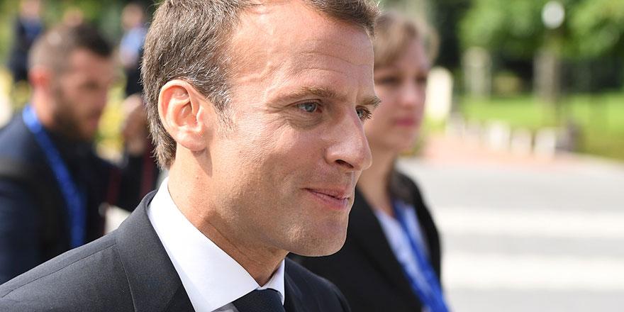 Macron'dan flaş İran açıklaması
