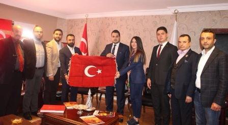 TBB Gençlik İletişim Biriminden Türkiye Gaziler ve Şehit Aileleri Vakfı'na Ziyaret