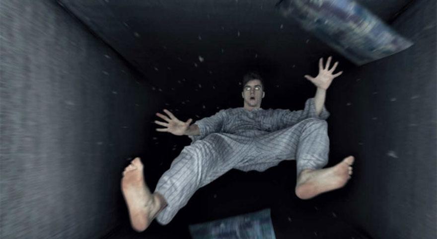 Uykuya dalarken düşme hissine dikkat