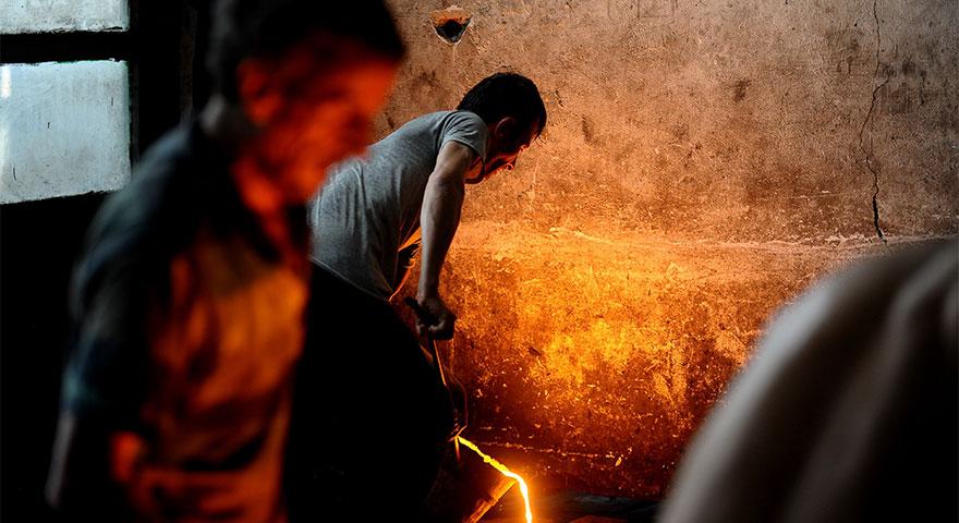 1350 derece sıcakta ekmek mücadelesi