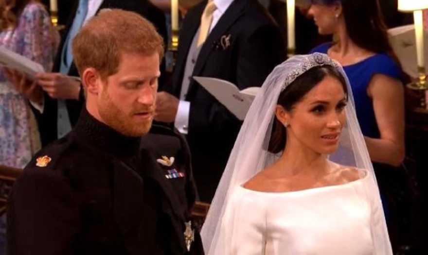 Tüm dünyanın merakla beklediği yılın düğünü gerçekleşti.