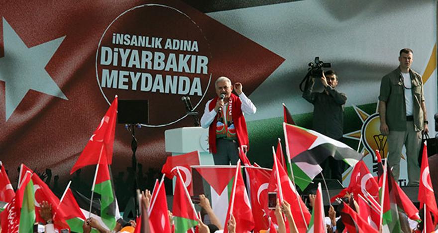 Başbakan Yıldırım: Filistin, Türkiye'nin meselesidir