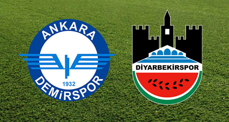 Ankara Demirspor Diyarbekirspor maçı ne zaman, saat kaçta?