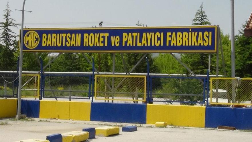 Ankara'da Barutsan Roket ve Patlayıcı Fabrikasında patlama yaşandı