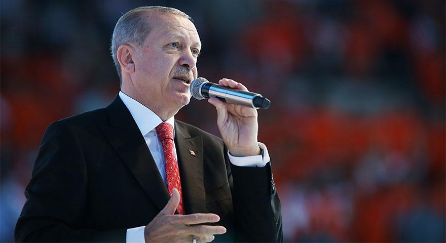 Cumhurbaşkanı Erdoğan AK Parti'nin seçim beyannamesini açıkladı