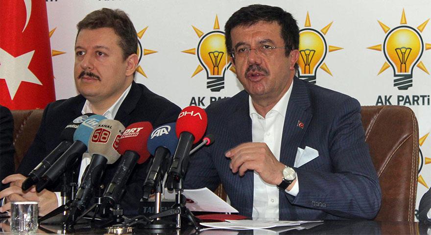 Bakan Zeybekci'den ihracatçılara döviz kurunun sabitlendiği müjdesi