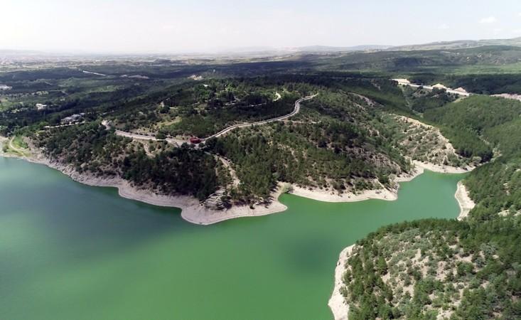 Ankara'da etkili olan yağışlar barajları doldurmaya başladı