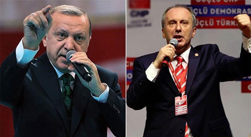 Erdoğan'dan Muharrem İnce'ye şok