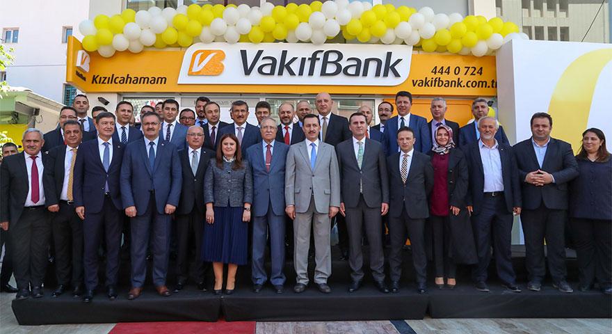 VakıfBank 957'nci şubesini Kızılcahamam'da açtı
