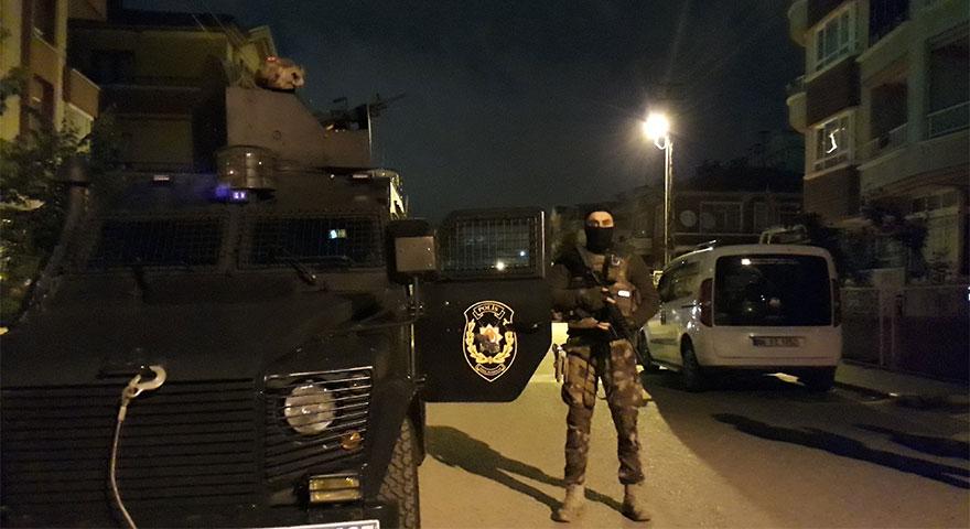 Ankara'da 'Sezginler Aşireti'ne operasyon