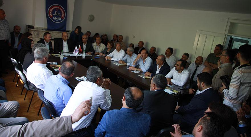 Ali İhsan Arslan Ankaralılar ile bir araya geldi
