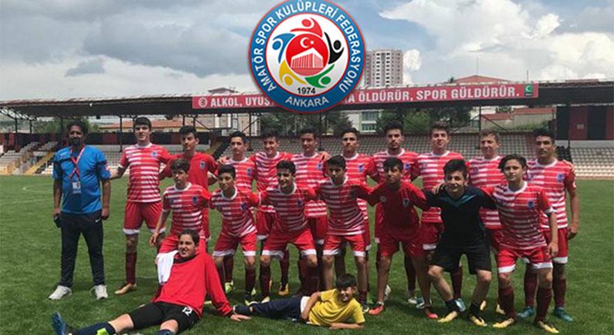 Elmadağ Hasanoğlan U15 Takımı Türkiye Finalinde ikinci turda