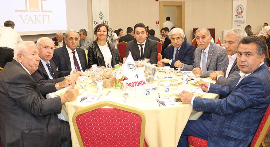 Kırşehirliler Vakfı Çankaya Belediyesi İftarına İlgi Büyük Oldu