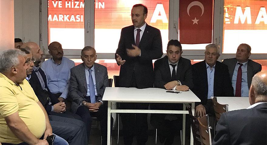 Hacı Turan: Sizlere hizmet etmek için desteklerinizi bekliyorum