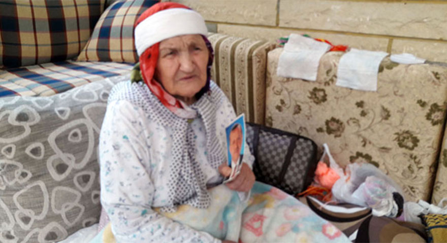 108 yaşındaki Asiye ninenin Cumhurbaşkanı sevgisi