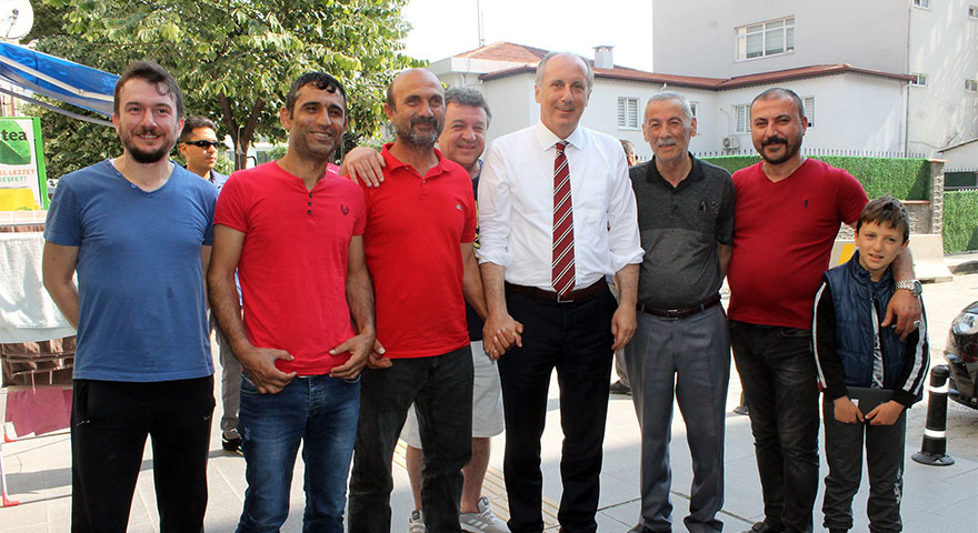 Muharrem İnce'den general tepkisi: AK Parti'nin il başkanı mısın?