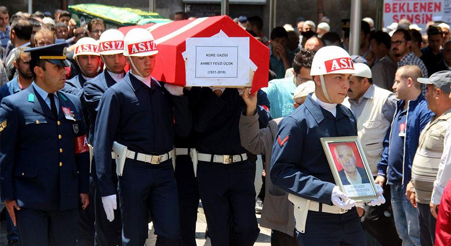 Kore Gazisi Üçok hayatını kaybetti