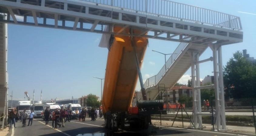 Ankara Gölbaşı'nda açık unutulan kasa kazaya neden oldu