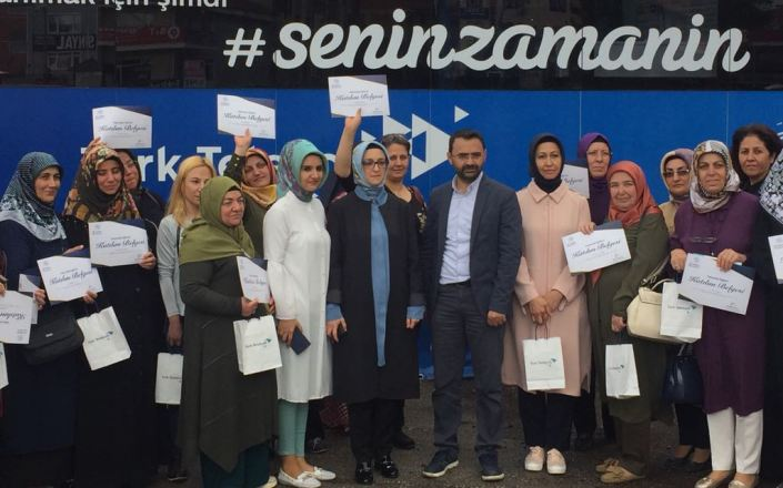 Ankaralı kadınlara teknoloji eğitimi