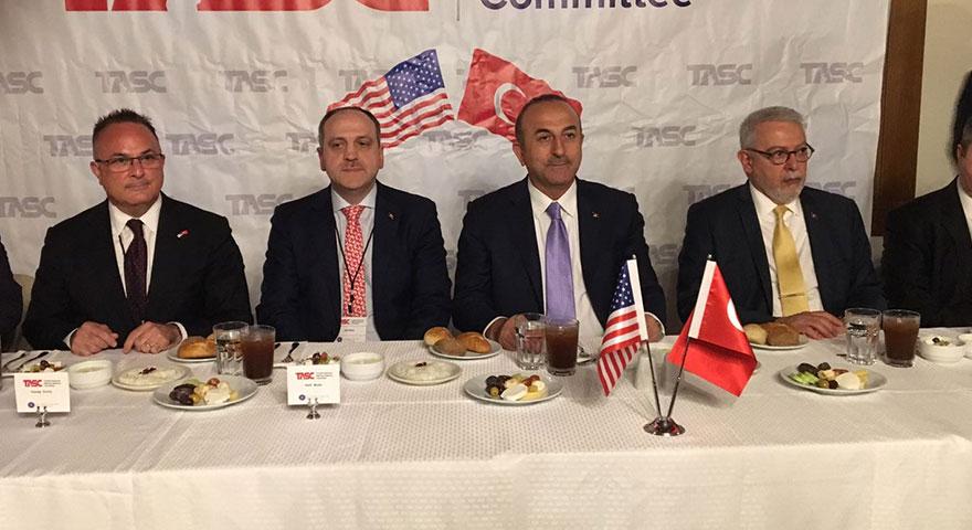 Bakan Çavuşoğlu, ABD'de